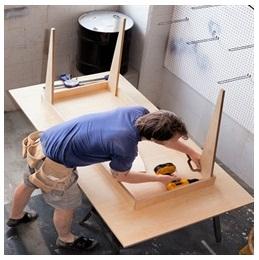 Сборка столов по низким ценам в Ульяновске от специалистов